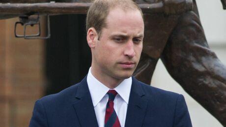 A fleur de peau, le prince William fond en larmes lors d'une interview