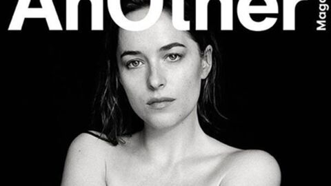 PHOTO Dakota Johnson toute nue en couverture d'Another Magazine