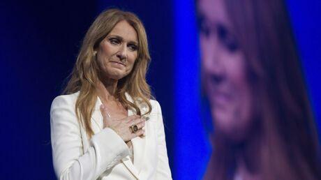Céline Dion fond en larmes sur scène, Bradley Cooper la console