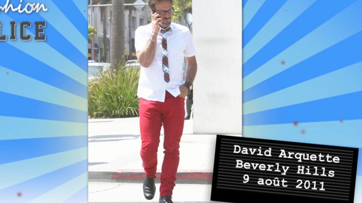 Fashion police # 7: David Arquette sexy, Tyra Banks effrayante
