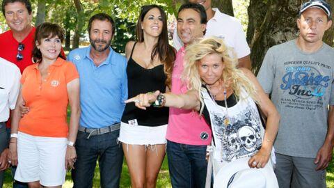DIAPO Stéphan Rizon et Liane Foly se font voler la vedette par un mannequin trop court vêtu