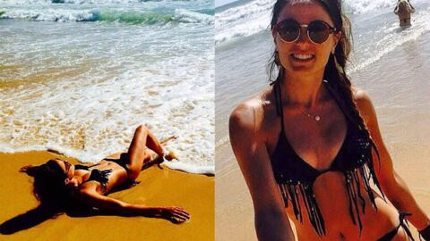 PHOTOS Capucine Anav sexy en bikini sur la plage
