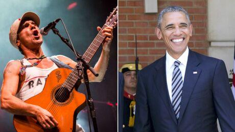 Barack Obama: fan de Manu Chao, il le place dans sa playlist de l'été