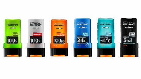 L'Oréal Men Expert lance sa première gamme de gels douche pour homme