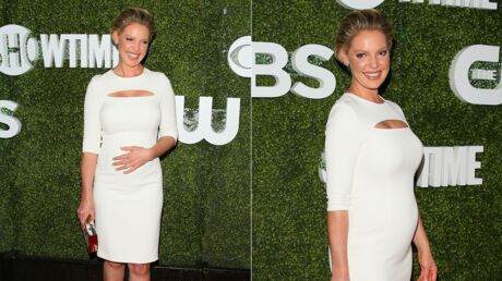 Katherine Heigl affiche son baby bump à Hollywood