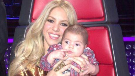 PHOTOS Shakira avec son fils dans le fauteuil de The Voice