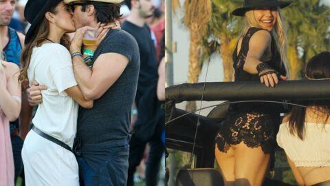 PHOTOS Fergie montre ses fesses et Ian Somerhalder fou amoureux à Coachella