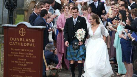 PHOTOS Le tennisman Andy Murray s'est marié en kilt