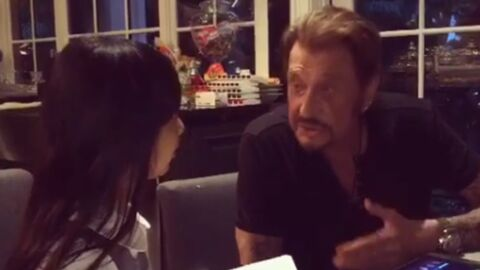 Jade Hallyday interviewe son papa, Johnny