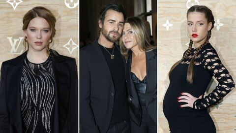 PHOTOS Jennifer Aniston et Justin Theroux in love, Léa Seydoux sublime pour Louis Vuitton x Jeff Koons