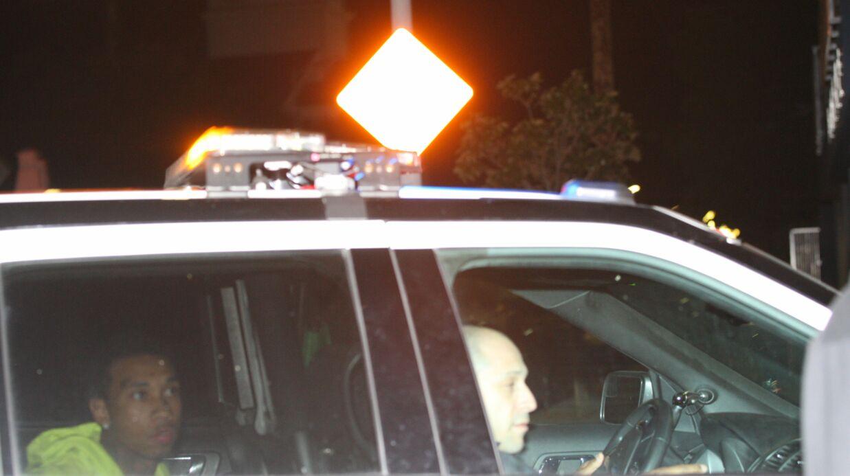 PHOTOS Tyga arrêté et menotté à la sortie d'une boîte de nuit