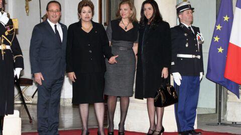 PHOTOS Valérie Trierweiler ose un look plus sexy