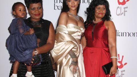 PHOTOS Rihanna radieuse et en famille sur le tapis rouge