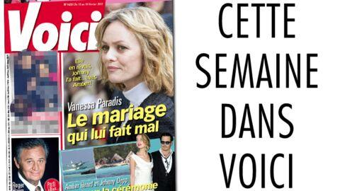 C'est dans Voici: le mariage qui fait mal à Vanessa Paradis