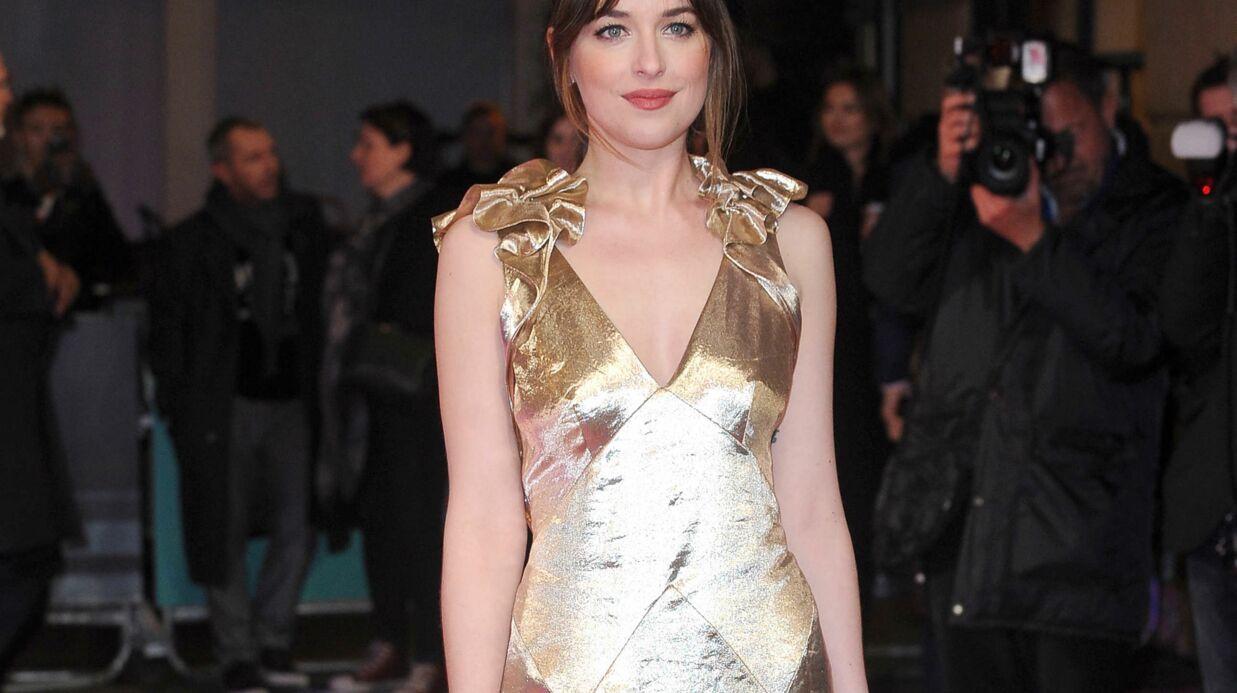 50 Shades of Grey: Dakota Johson veut que Jamie Dornan «se mette entièrement nu»