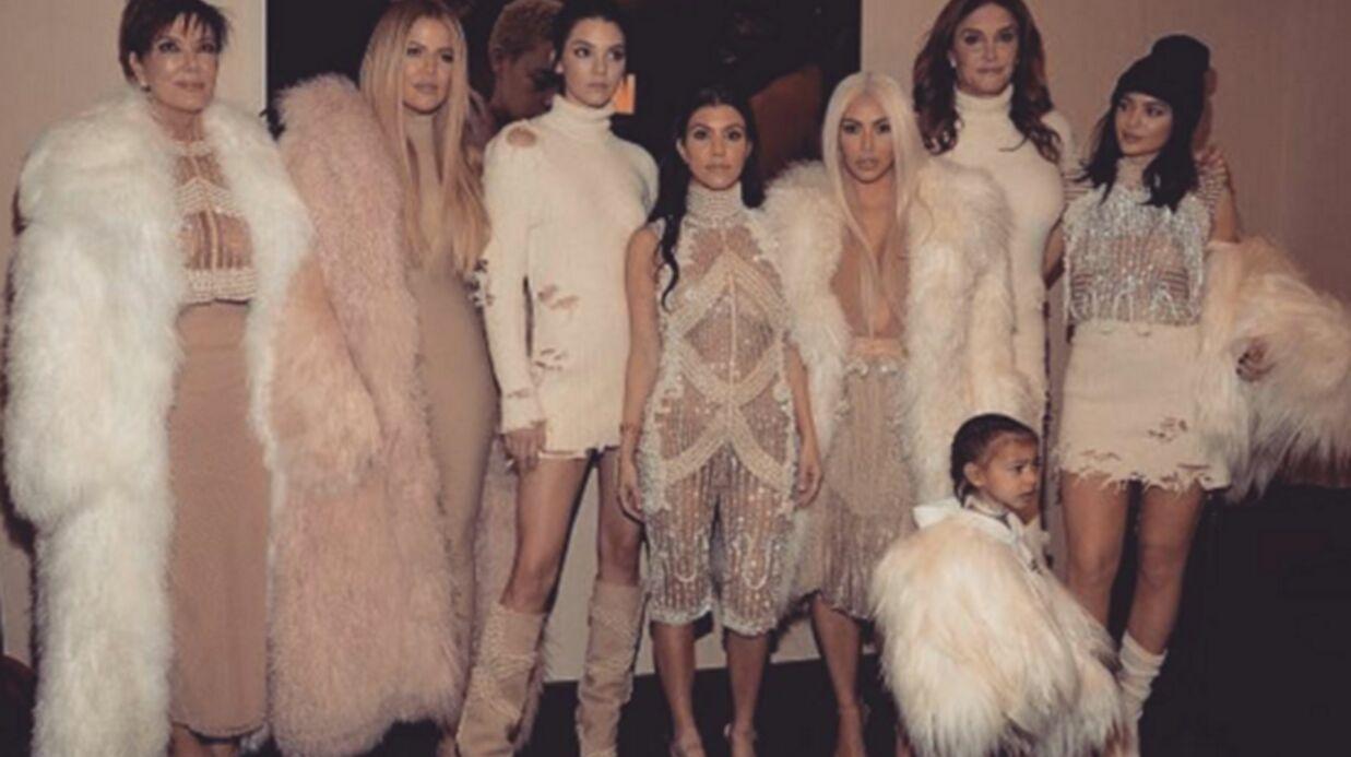 PHOTOS Kanye West: les Kardashian au grand complet (même Lamar Odom)! pour son défilé à la fashion week