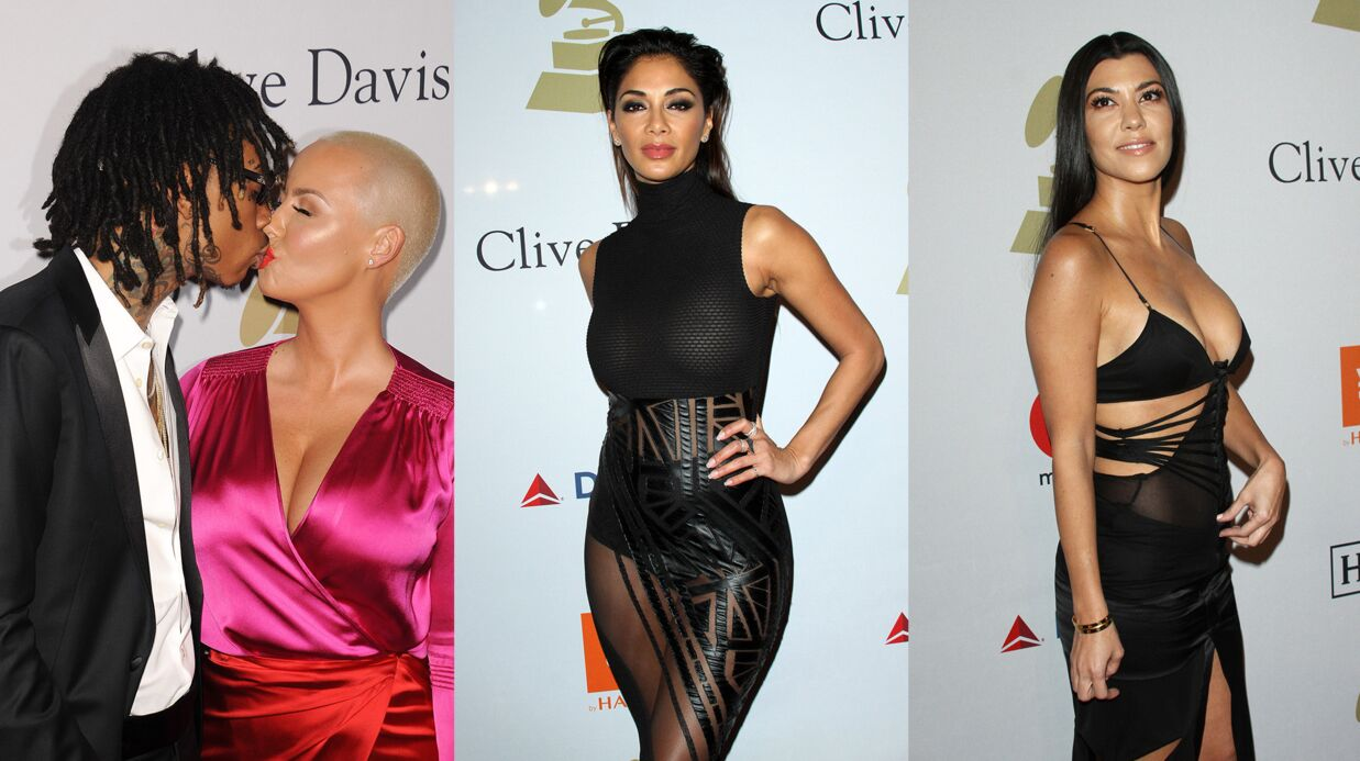 PHOTOS Nicole Scherzinger et Kourtney Kardashian sexy, Amber Rose et Wiz Khalifa en couple avant les Grammy