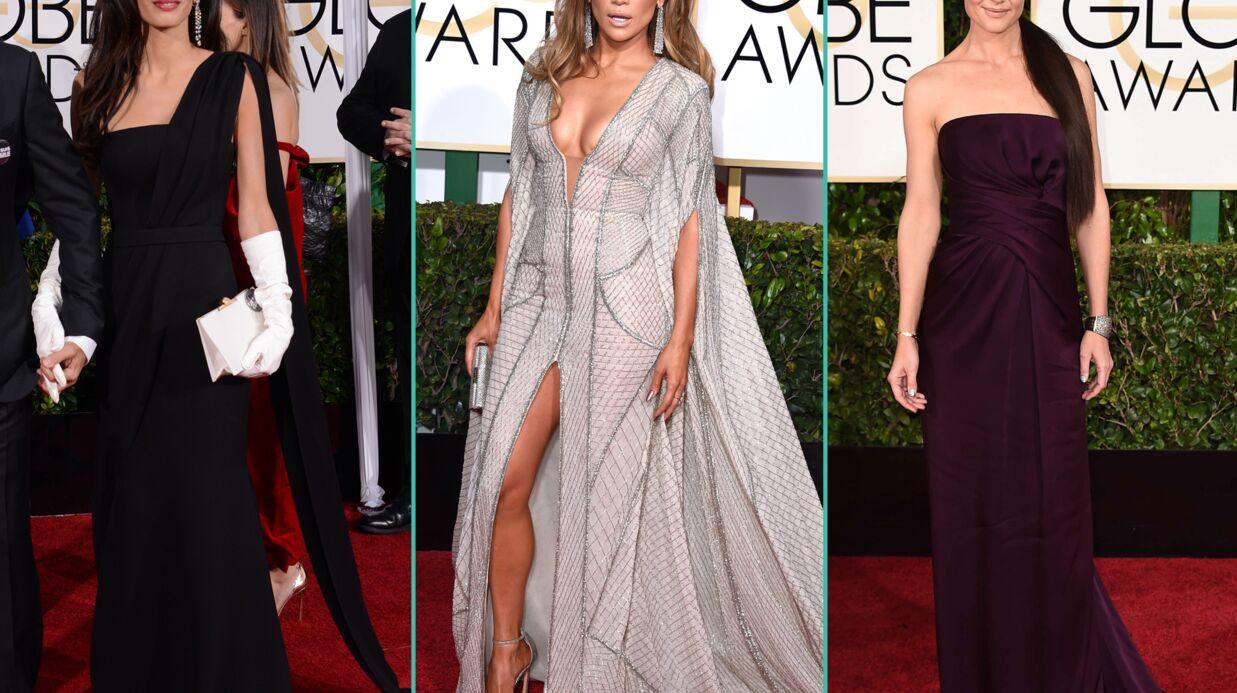DIAPO Jennifer Lopez, Amal Clooney, Katie Holmes… Les plus beaux looks des Golden Globes