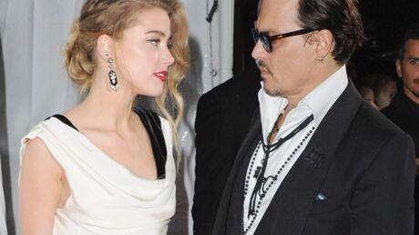 PHOTOS Johnny Depp et Amber Heard affichent leur amour pour contrer la rumeur