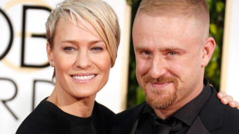 Robin Wright dans les bras de son ex-fiancé hier aux Golden Globes!