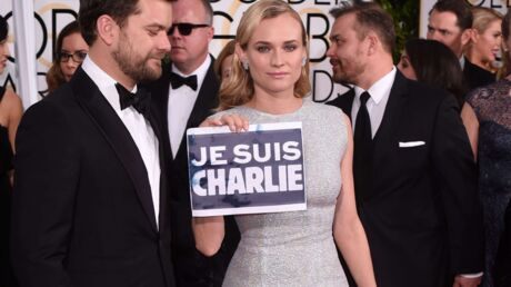 Golden Globes: Hollywood rend hommage à Charlie Hebdo