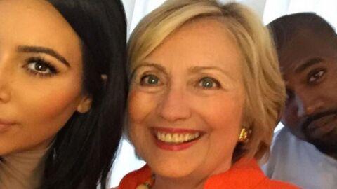 Hillary Clinton a vu l'envers du décor et révèle le secret des selfies zéro défaut de Kim Kardashian