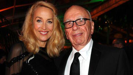 Jerry Hall et Rupert Murdoch annoncent leur mariage