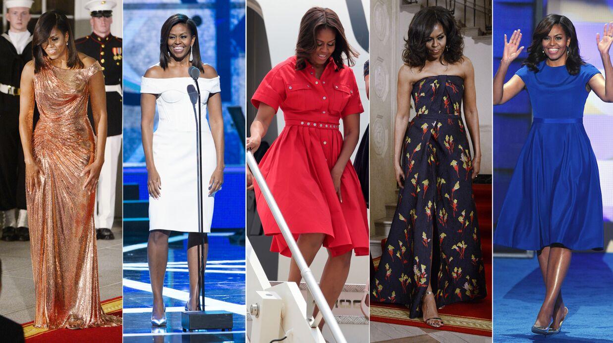 PHOTOS Les plus beaux looks de Michelle Obama en tant que First Lady des États-Unis