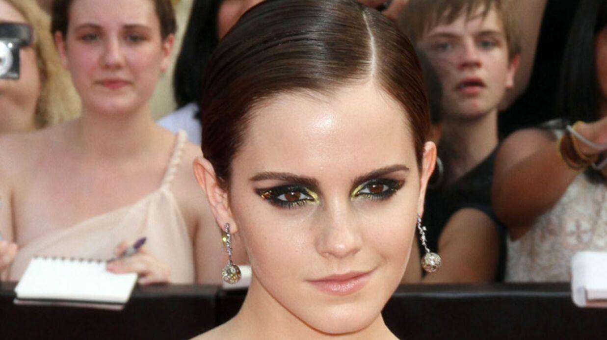 LOOK Emma Watson: vilaine sorcière