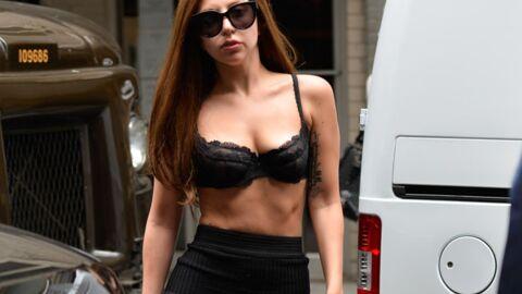 Lady Gaga: très peu vêtue pour marquer l'annonce de son 3e album
