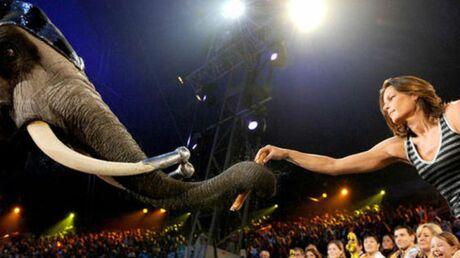 Stéphanie de Monaco accueille aujourd'hui les deux éléphantes sur le Rocher