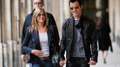 PHOTOS Jennifer Aniston et Justin Theroux à Paris