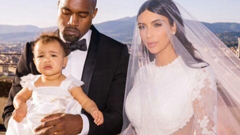 De nouvelles photos du mariage de Kim Kardashian: sa fille à l'honneur