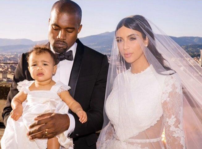 De nouvelles photos du mariage de Kim Kardashian