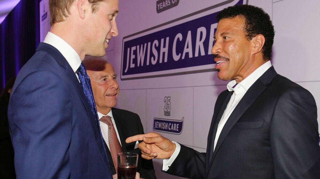 L'émouvant hommage de Lionel Richie à Lady Di face au Prince  William