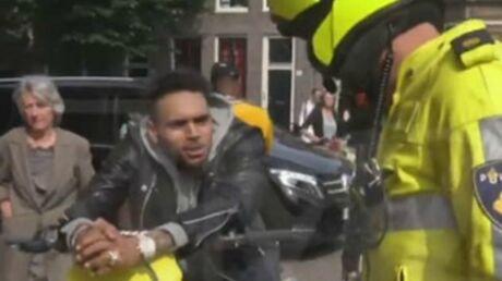 VIDEO Chris Brown: encore arrêté par la police, il réagit drogué sur Instagram