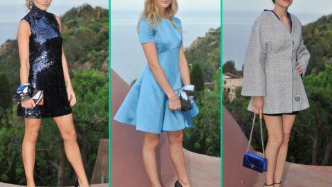 DIAPO Marion Cotillard et Illona Smet chic et sexy pour un défilé Dior à Cannes