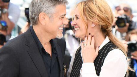 DIAPO Cannes 2016: Julia Roberts irrésistible au bras de George Clooney pour Money Monster