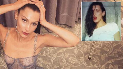 Bella Hadid affole la toile avec son underboobs en vidéo