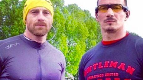 PHOTOS Quand Frank des 2Be3 fait son jogging, c'est avec Aziz de Loft Story