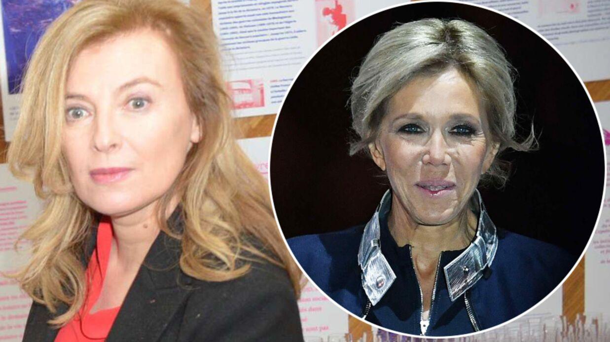 Valérie Trierweiler juge odieuses les attaques contre Brigitte Macron