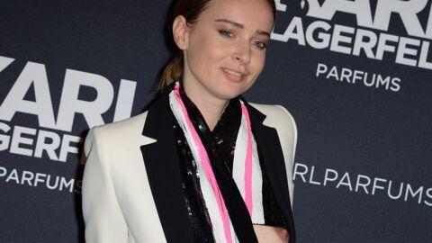 PHOTOS Olga Sorokina exhibe ses seins nus à la soirée Karl Lagerfeld