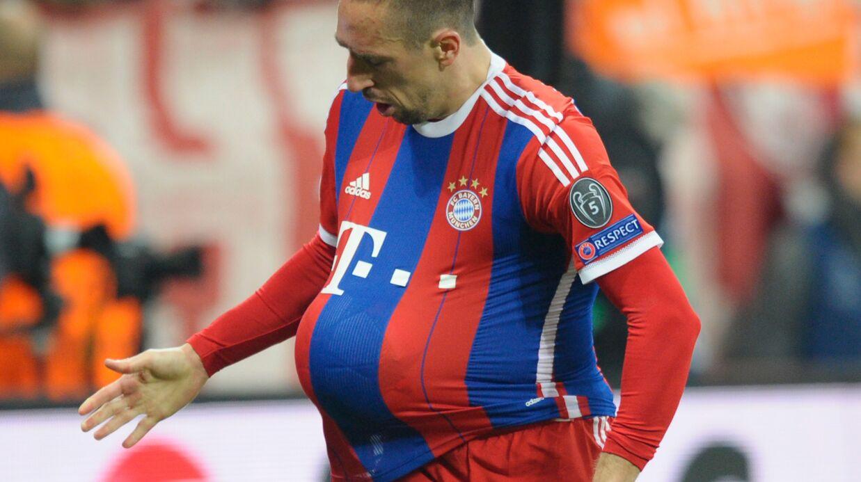 Franck Ribéry papa: sa femme Wahiba enceinte de sept mois