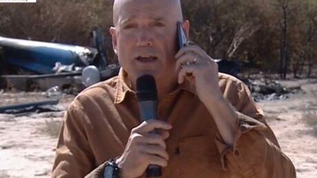 Louis Bodin (Dropped) s'explique après son duplex polémique devant la carcasse d'hélico