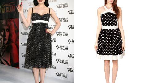 Offrez-vous une robe à pois comme Dita Von Teese