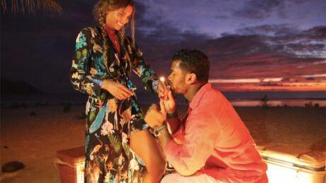 PHOTOS Ciara et Russell Wilson se sont fiancés aux Seychelles