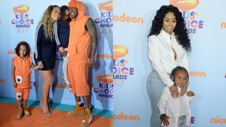 DIAPO Mariah Carey et Nick Cannon, Blac Chyna en famille pour les Kids Choice Awards