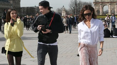 PHOTOS Victoria Beckham en visite à Paris avec son fils Brooklyn