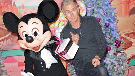 DIAPO Franck Dubosc, Laurence Ferrari fêtent Noël à Disneyland