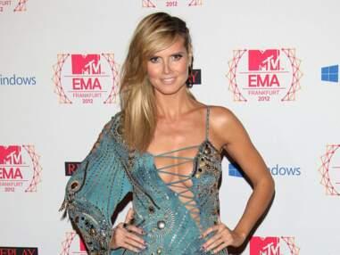 Heidi Klum et ses 8 tenues aux MTV EMA 2012